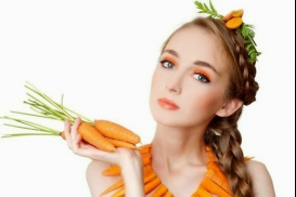Tóc mượt mà, giảm gãy rụng với cà rốt